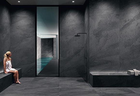 Керамическая плитка под бетон