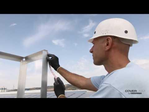 GRESPANIA Тонкий керамогранит COVERLAM 5,6 мм - монтаж вентилируемого фасада