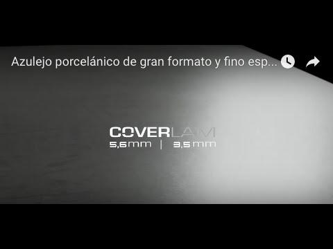 GRESPANIA Тонкий керамогранит COVERLAM 3,5 мм - манипуляция и монтаж на имеющуюся плитку поверх